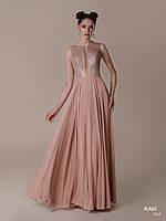 Топ! Длинное выпускное платье с глубоким декольте, модель KAVI 063