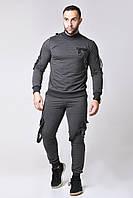 """Трикотажный мужской спортивный костюм """"Sven"""" с накладными  карманами (2 цвета)"""