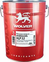 Масло гидравлическое Wolver Hydrauliköl HLP 32 20л.