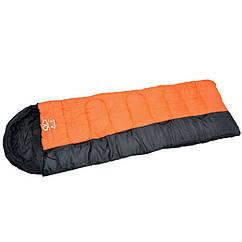 Спальный мешок одеяло с капюшоном SY-081 (PL,хлопок, 1350г, р-р 190+30х75см, t+10 до -10, мешки соединяются друг с другом)