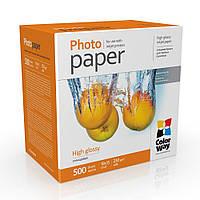 Фотобумага ColorWay глянцевая 230 г/м², 10х15, 500 л. (PG2305004R)