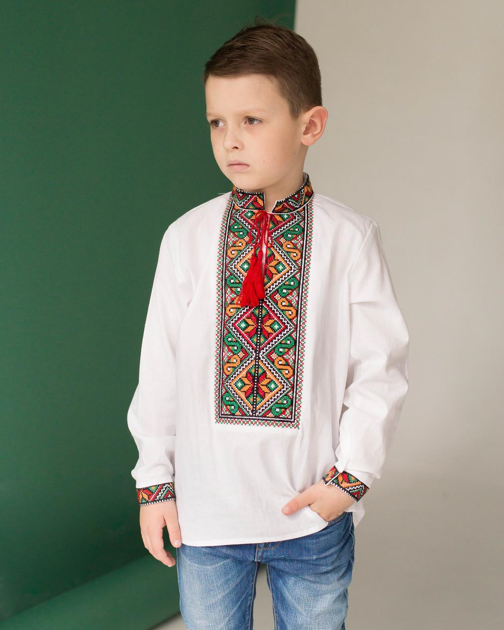 Вышитая рубашка для мальчишек