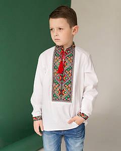 """Вышитая рубашка для мальчишек """"Елит"""""""