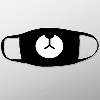Текстильна маска для обличчя з двошарової тканини з карманом для фільтра