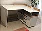 Комп'ютерний стіл Естет, Слива Угорська, фото 2