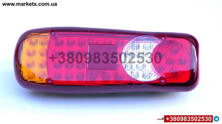 Комплект светодиодных фонарей LED 12-24V DAF Renault Midlum Premium Volvo FL, фото 2