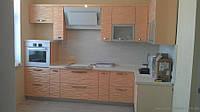 Кухни с 3Д фасадами из крашеного МДФ