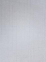 Обои виниловые на флизелине Marburg Tango 58858 однотонные серые  тонкая полоска клетка  10.05х0.70 м., фото 1