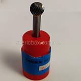 Борфреза по металлу (шарошка) тип D, 14мм, фото 3