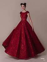 Топ! Пышное выпускное платье с блестками, модель KAVI 067