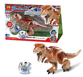 Конструктор Lele 79151-2 Мир Юрского периода Тираннозавр (аналог Lego Jurassic World 75918)