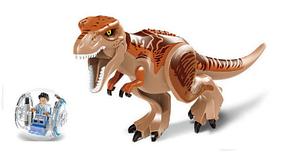 Динозавр Ти-Рекс разборной. Фигурка Тиранозавра