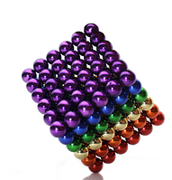 Нео Куб 5мм цветной, Магнитный шарики, Магнитный неокуб, Головоломка