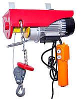 Тельфер 220В, 150кг/300кг 25метров (код 22-302) электрическая лебедка