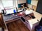 Стіл комп'ютерний Естет, Родос світлий, фото 7