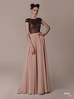 Топ! Нарядное Вечернее платье в пол, модель KAVI 75