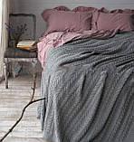 Покрывало - плед вязаное  170x240 BETIRES bremen grey, фото 3