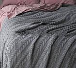 Покрывало - плед вязаное  170x240 BETIRES bremen grey, фото 2