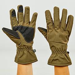 Перчатки для охоты, рыбалки и туризма теплые флисовые TY-0355 (флис, полиэстер, закрытые пальцы, р-р L-2XL, цвета в ассортименте)