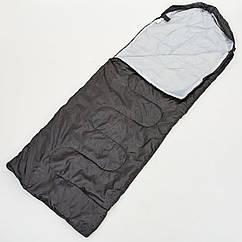 Спальный мешок одеяло с капюшоном TY-0561 (PL,хлопок, 1000г на м2, р-р 210x70см, t+10 до -10, цвета в ассортименте)