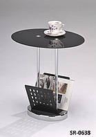 Стильный стеклянный кофейный столик, прикроватный столик, офисный столик