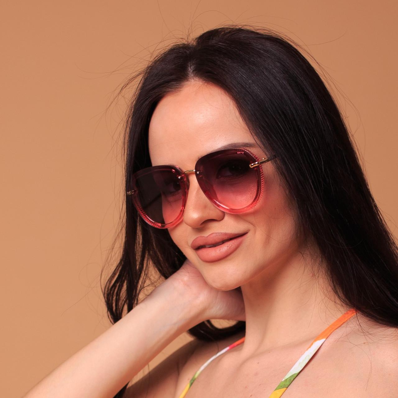 Женские солнцезащитные очки авиатор  (арт. 2033707)