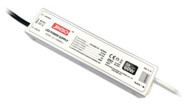 Блок питания JLV-12060KA-LS 12вольт 60вт Super slim герметичный IP67 JINBO 12165о