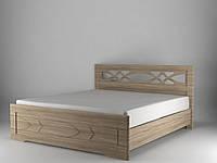 Кровать Лиана с пружинными подъемниками 140x200 дуб сонома