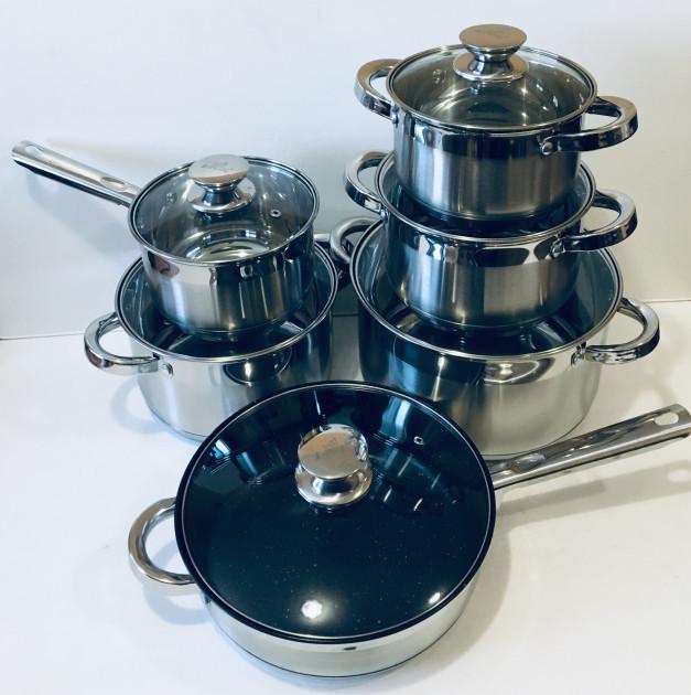Набор посуды 12 предметов A-PLUS 2181