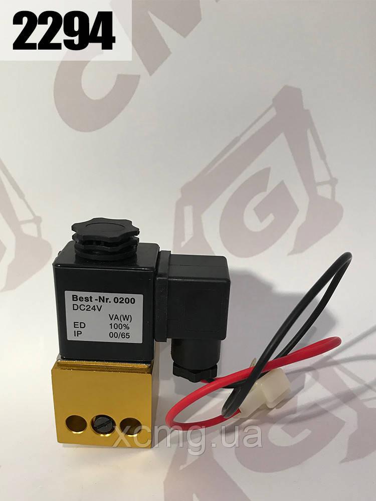 Електромагнітний клапан N0200 IP00 / 65 блокування заднього моста