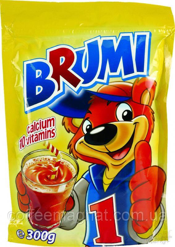 Какао Brumi с витаминами и кальцием 300г