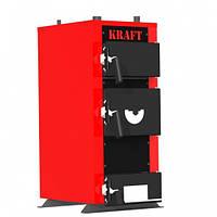 Стальной твердотопливный котел Kraft E New (Крафт Е Нью) 24 кВт
