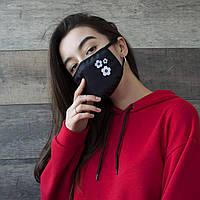 Маска многоразовая защитная от пыли и вирусов (маска - распиратор)