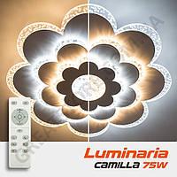Потолочный светодиодный светильник LUMINARIA CAMILLA 75W F-500-CLEAR/BULB-220-IP44 с пультом ДУ
