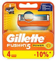 "Картридж Gillette ""Fusion"" Power (4)"