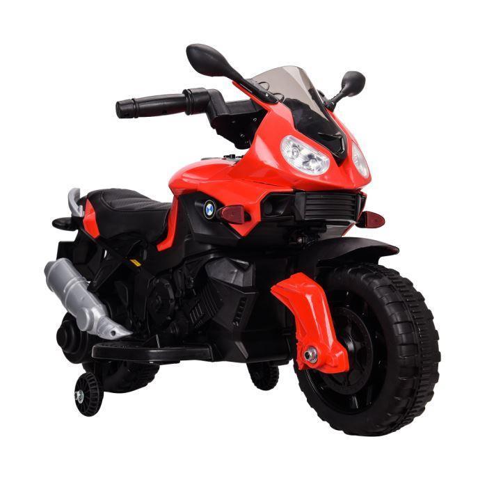 Детский электромобиль T-7219/1 RED мотоцикл 6V4.5AH мотор 1*20W с MP3 90*42*62 /1/