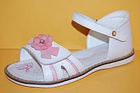 Детские босоножки Bi&Ki Китай 3354 Для девочек Белый размеры 27_32, фото 1
