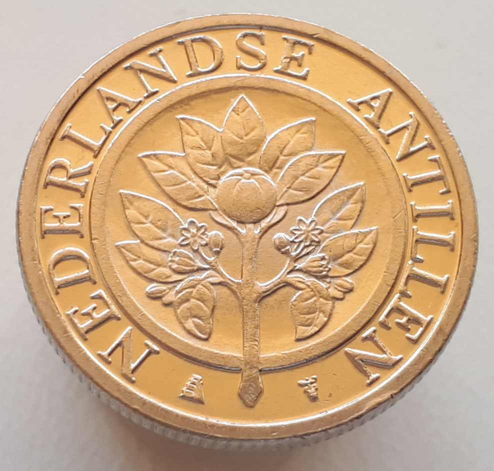 Нидерландские Антилы 25 центов 2010