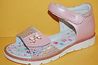 Детские босоножки Bi&Ki Китай 4049 Для девочек Розовый размеры 27_29, фото 1
