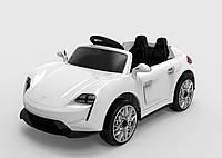 Детский электромобиль Tilly FL1718 EVA WHITE легковая Р/У 2*6V4.5AH мотор 2*25W
