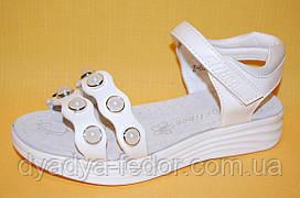 Дитячі Босоніжки Clibee Польща Z604 Для дівчаток Білий розміри 31_36