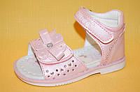 Детские Босоножки Clibee Польша F223 Для девочек Розовый размеры 20_25, фото 1