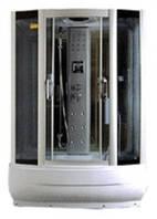 Гидробокс MIRACLE 150х85х45 тонированное стекло, глубокий поддон, TS8002 Rz