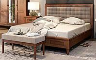 Ліжко двоспальне м'яке узголів'я Баварія