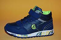 Детские демисезонные Ботинки Clibee Польша 3010 Для мальчиков Синий размеры 25_30, фото 1
