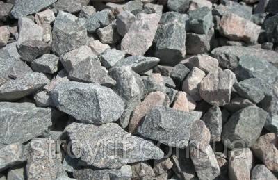 Бутовый камень серо-розовый