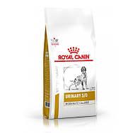 ROYAL CANIN URINARY S/O MODERATE CALORIE корм для собак при лечении и профилактике мочекаменной болезни 12кг