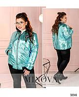 Куртка №471-Бирюза