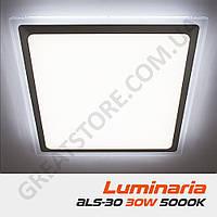 Потолочный светодиодный светильник LUMINARIA ALS-30 AC170-265V 30W 5000K, нейтральный белый свет (квадрат)
