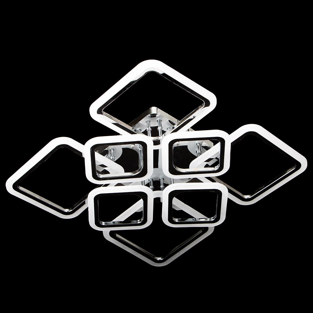 Люстра светодиодная с пультом управления SL-5331/4+4 CR DIMMER